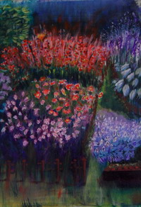 Red and Purple Haze by Ruth Simmonds