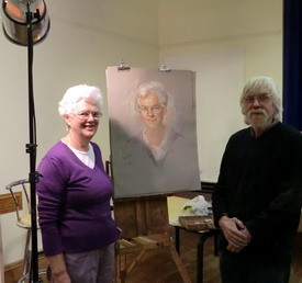 Portrait demo with Rob Wareing