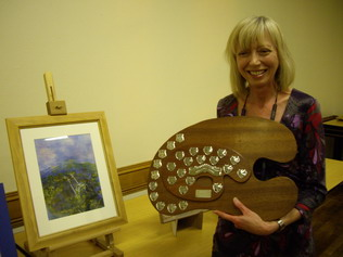 Winner of 2010 Palette Competition, Gill Harwood