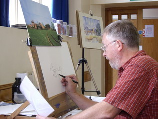 Line and Wash Workshop with Tim Fisher